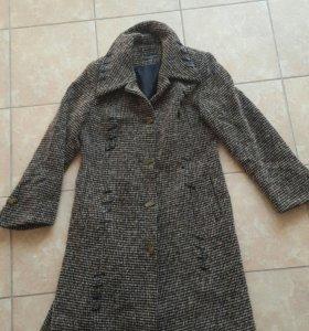 пальто гусиная лапка 48р