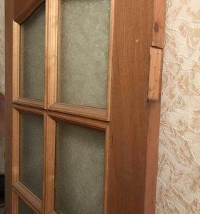 Дверное полотно, натуральный шпон