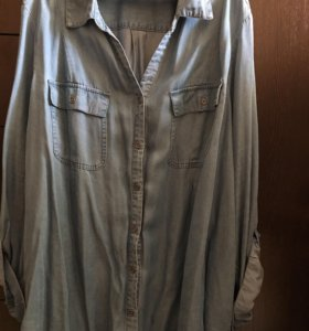 Рубашка (легкий джинс)