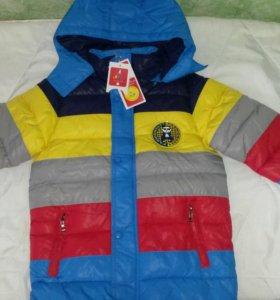 Куртка новая, весна-осень. Р.116-122