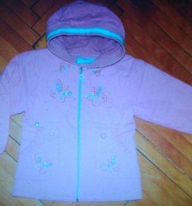 Курточка утепленная (на весну) 110-116