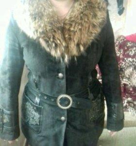 Куртка замшевая зима-осень