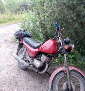 Мотоцикл зид Сова
