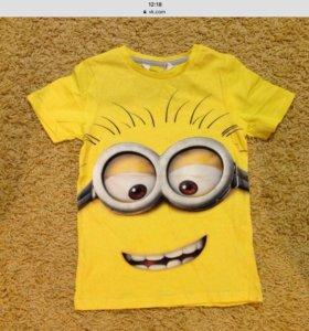 Новые футболки на мальчика.