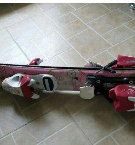 Горные лыжи Rossignol +ботинки в подарок