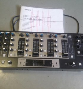 Denon DNX500 Professional Rackmount DJ Mixer
