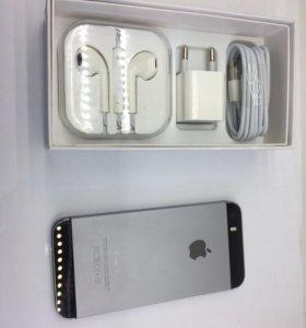 Apple iPhone 5s 16Gb. Space Gray. Новый