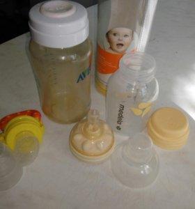 Бутылочки и нимблер