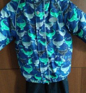 Комплект куртка и полукомбинезон