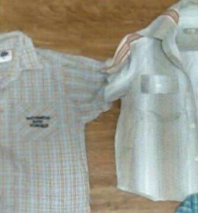Рубашки и кофта на мальчика