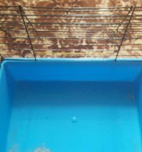 Продам клетку для грызунов, 40×30×30.