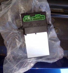 Резистор отопителя рено меган б/у1600,новые по3000