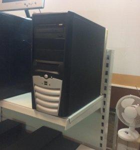 Компьютер intel 2 ядра по 2,8 Гц на ядро
