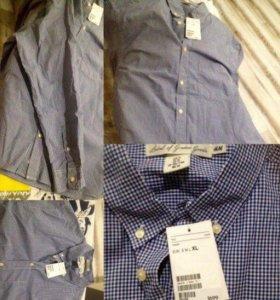 Мужская рубашка, новая с бирками размер XL