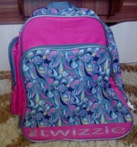 Рюкзак для переноски коньков.