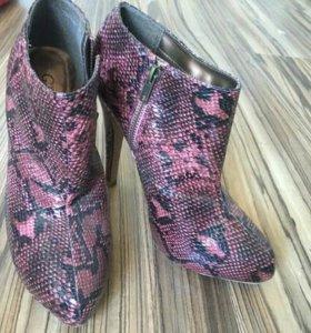 Ботильоны новые ботинки