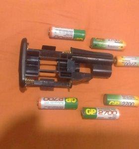 Вкладыш для батарей ручки canon 550d 600d 650d