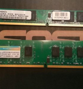 Оперативная память DDR2 2 GB