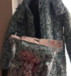 Куртка 3 в 1 для беременных и слингоношения