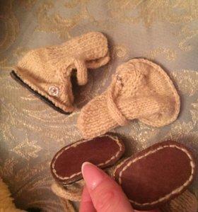шапки, ботинки для собак мини пород