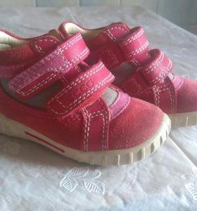 Ботинки Экко 21 размер.