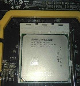 Материнская плата FOXCONN + процессор + куллер