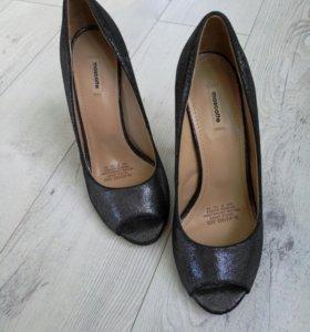 Туфли mascotte натуральная кожа 38 размер