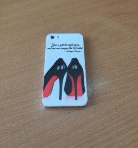 Чехол для iPhone 5 и 5S Лабутены