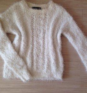 Мягкий пушистый свитер 🕊