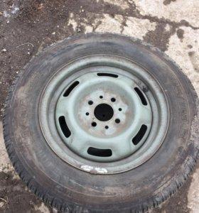 Продам комплект летних колес Кама 205
