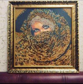 Картина бисер на холсте