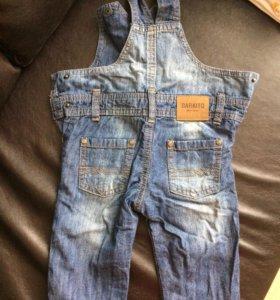 Комбинезон джинсовый (6-9 месяцев)