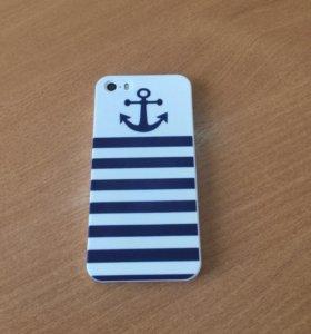 Чехол для iPhone 5 и 5 S Морской