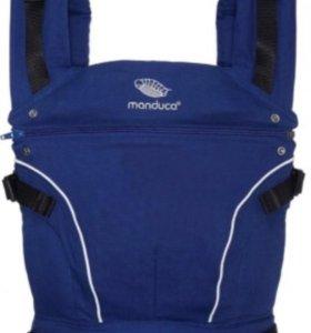 Эргономичный слинг-рюкзак manduca pureCotton Royal