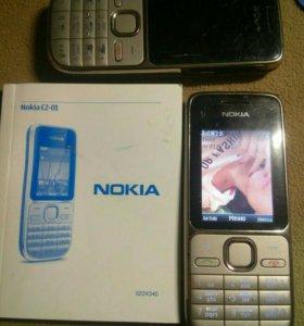Nokia c2-01 с ветсаб
