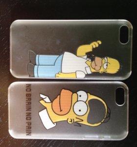 Чехол Simpsons 5,5s