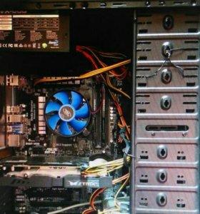 Мощный компьютер. торг. гарантия (больше года)