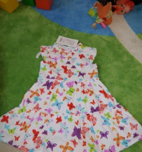 Новое нарядное платье р.80-86