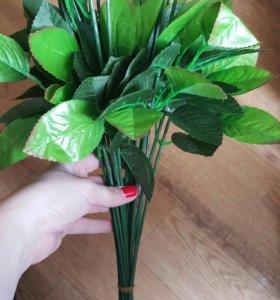 Лепестки роз на ножке цена за штуку 10р