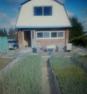 Сад с домом-баней