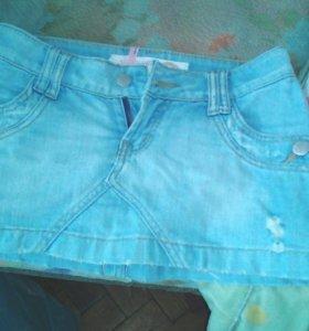 Джинсовые юбки и бриджи