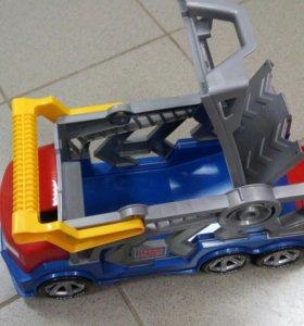 Машина MEGA BLOKS трейлер
