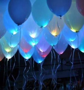 Святящиеся шары. Светодиодные шарики