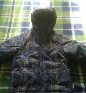Куртка зимняя на мальчика Huppa