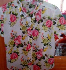 Блузка для девочки новая