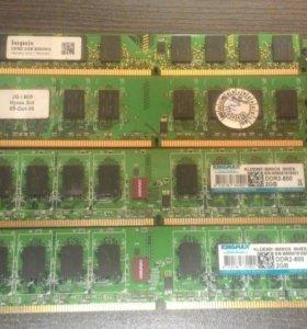 Оперативная память для компьютера DDR2 2 Гб