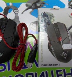 Мышка проводная,игровая USB