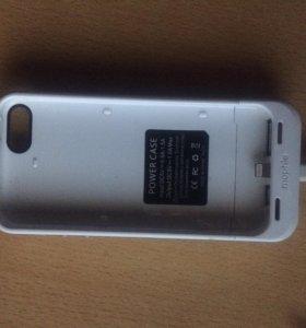 Чехол - зарядка на iPhone 5/5s