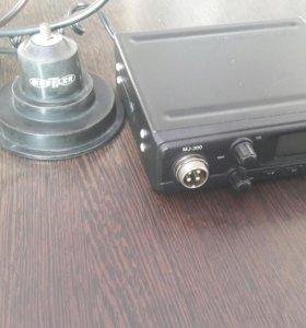 Радиостанция (рация) автомобильная Мегаджет MJ-300