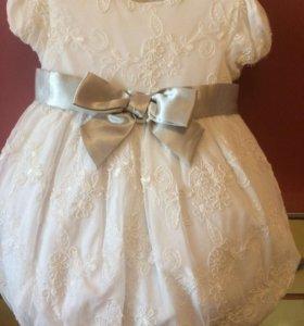 Продам шикарное нежное платье